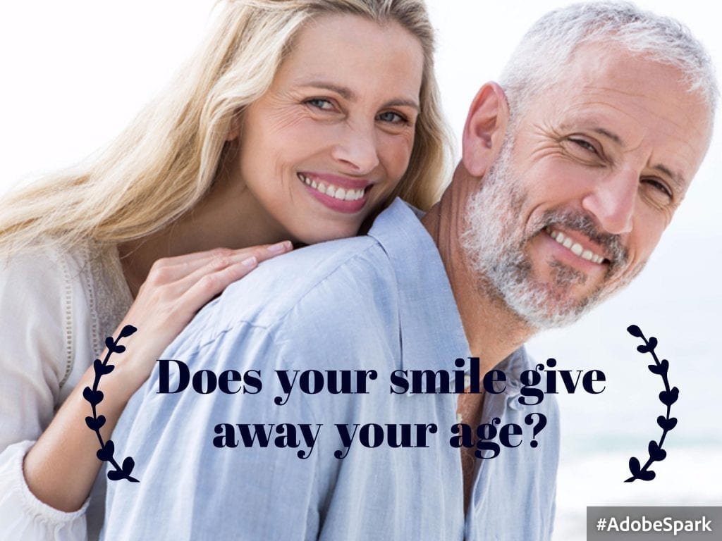 Face lifts, Botox, lasers needling--none of these can combat an aging smile.