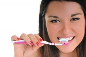Wait at least 30 minutes before brushing after eating or drinking anything acidic.