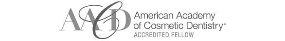 American Academy of Cosmetic Dentistry Accredited Fellow logo